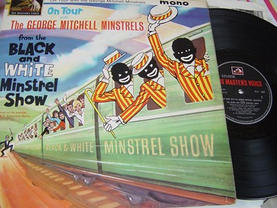 George Mitchell Minstrels - On Tour - HMV CLP 1667 UK