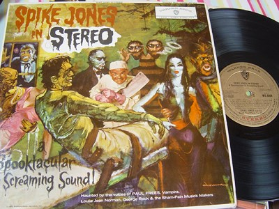 Spike Jones - In Stereo - Warner Brothers WS 8004 UK