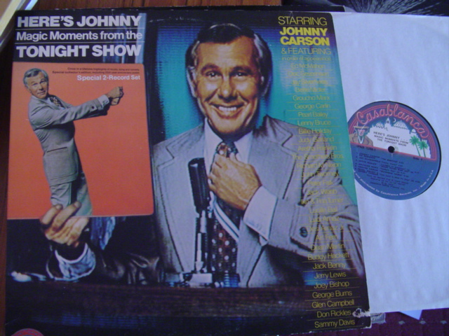 JOHNNY CARSON - HERES JOHNNY - CASABLANCA 2LP 1972