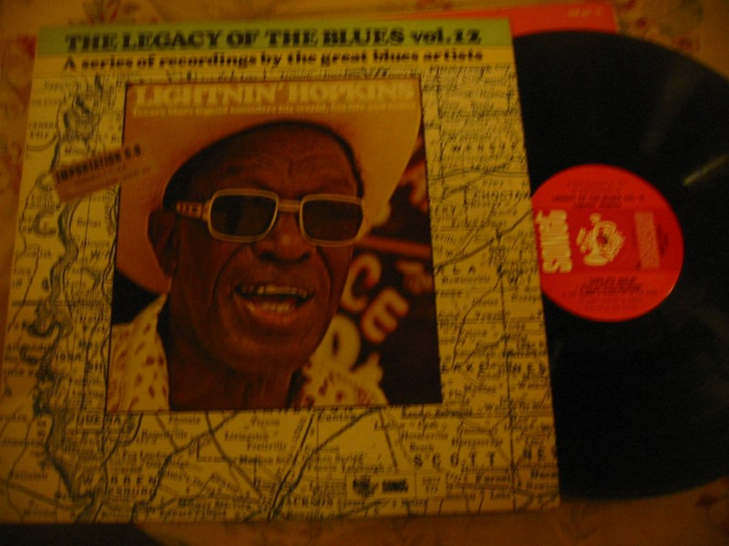 LIGHTNIN HOPKINS - LEGACY OF BLUES VOL 12 - SONET