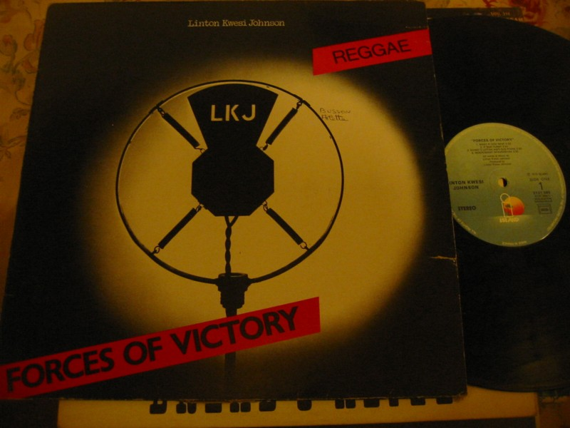 LINTON KWESI JOHNSON - FORCES OF VICTORY - ISLAND FRANCE