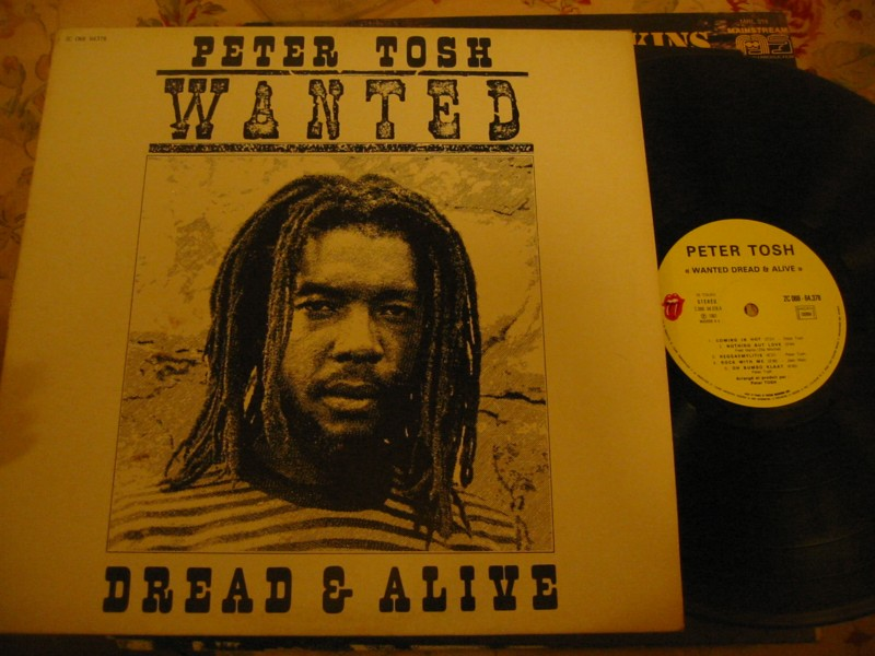PETER TOSH - WANTED DEAD OR ALOVE - ROLLING STONE 1981