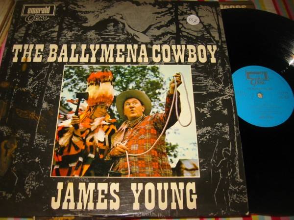 JAMES YOUNG - BALLYMENA COWBOY - EMERALD RECORDS { 157