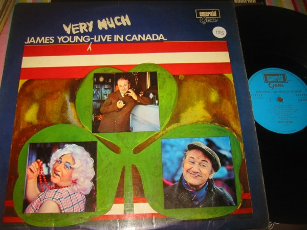 JAMES YOUNG - LIVE IN CANADA - EMERALD RECORDS { 155