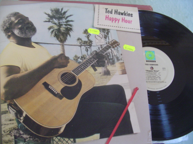 TED HAWKINS - HAPPY HOUR - ROUNDER RECORDS - J 1166