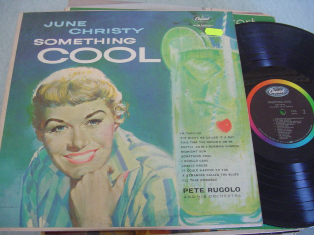 JUNE CHRISTY - SOMETHING COOL - CAPITOL J 1171