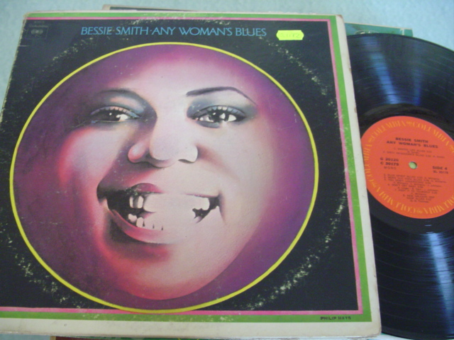 BESSIE SMITH - ANY WOMAN BLUES - COLUMBIA 2LP - J 1172