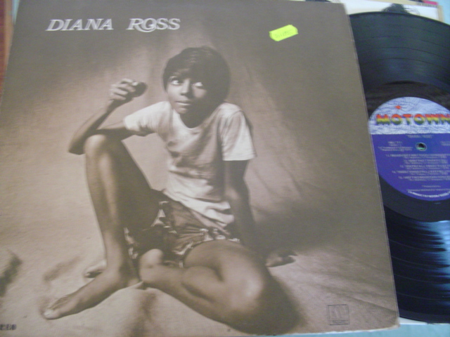 DIANA ROSS - SELF TITLE - MOTOWN { J 1185
