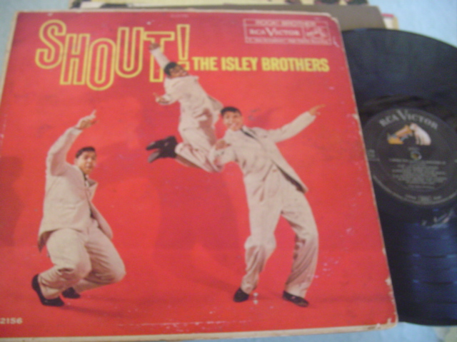 ISLEY BROTHERS - SHOUT - RCA MONO - J 1186