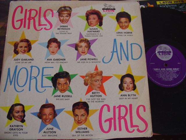 VARIOUS FEMALE VOCAL - GIRLS AND MORE GIRLS - LION