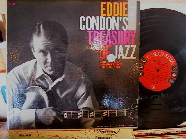 EDDIE CONDON - TREASURY OF JAZZ - COLUMBIA - J 629