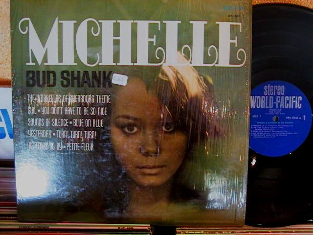 BUD SHANK - MICHELLE - WORLD PACIFIC - J 530