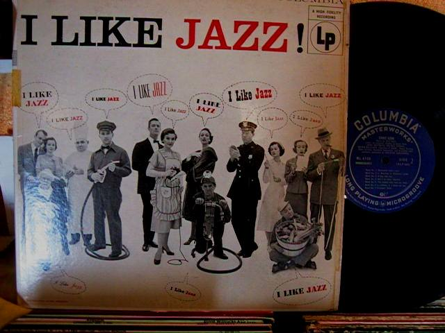 VARIOUS ARTISTS - I LIKE JAZZ - COLUMBIA - J 635