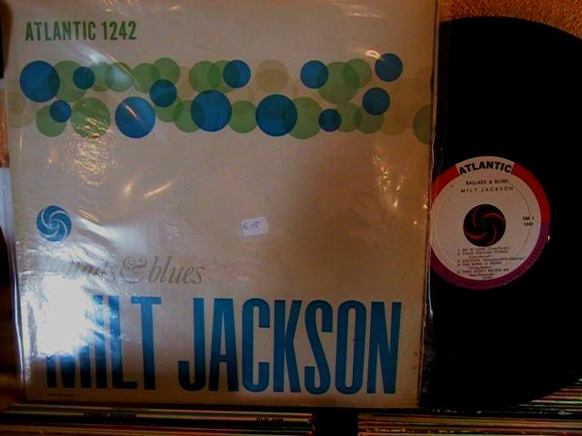 MILT JACKSON - BALLADS & BLUES - ATLANTIC - J 646