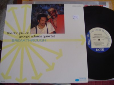 DON & PULLEN GEOEGE ADAMS - BREAKTHROUGH - BLUE NOTE { J 853