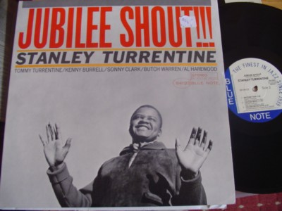STANLEY TURRENTINE - JUBILEE SHOUT - BLUE NOTE { J 854
