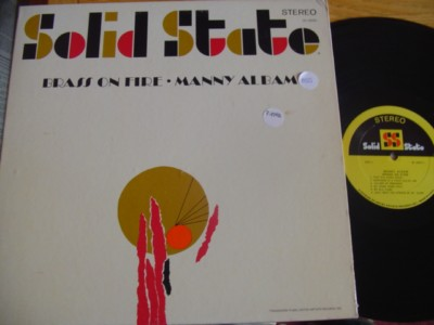 MANNY ALBAM - BRASS ON FIRE - SOLID STATE { J 855