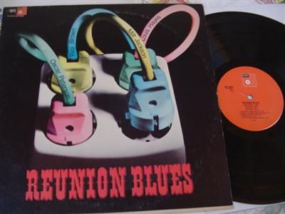 VARIOUS ARTISTS - REUNION BLUES - BASF - J 2