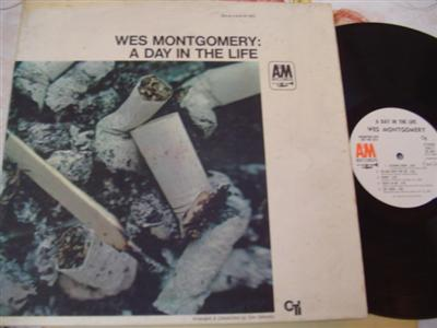 WES MONTGOMERY - DAY IN LIFE - A & M PROMO { J 22