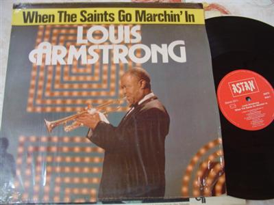 LOUIS ARMSTRONG - SAINTS GO MARCHING - ASTAN { J 23