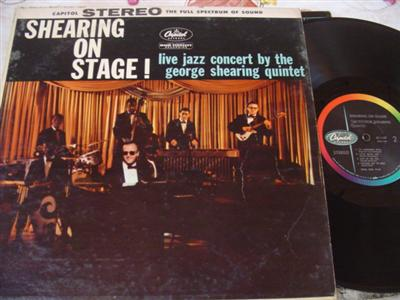 GEORGE SHEARING - ON STAGE - CAPITOL { J 29