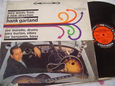 HANK GARLAND - JAZZ WINDS NEW DIRECTION - COLUMBIA { J 30