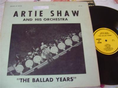 ARTIE SHAW - THE BALLAD YEARS - SOUNDS OF SWING [ J 28