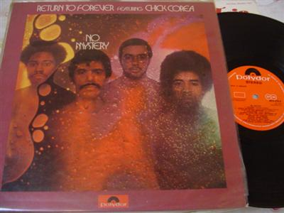 RETURN TO FOREVER - CHICK COREA - POLYDOR { J 36