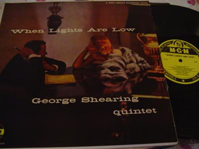 GEORGE SHEARING - LIGHTS ARE LOW - MGM { J 59