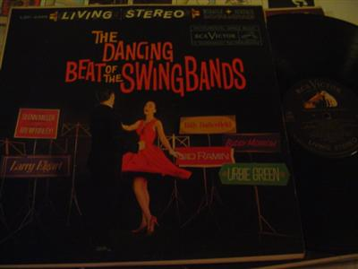 VARIOUS ARTISTS - DANCING SWING BANDS - RCA LSP { J 84