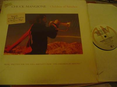 CHUCK MANGIONE - CHILDREN SANCHEZ - A & M 2LP { J 110