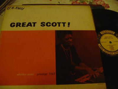 SHIRLEY SCOTT - GREAT SCOTT - PRESTIGE { J 724