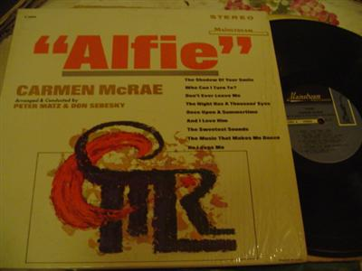 CARMEN McRAE - ALFIE - MAINSTREAM - J 723
