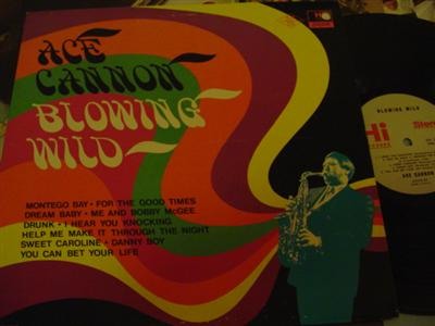 ACE CANNON - BLOWING WIND - HI RECORDS { J 729