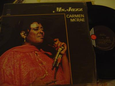 CARMEN McRAE - Ms JAZZ - GROOVE MERCHANT - J 741 - Click Image to Close