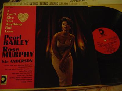 PEARL BAILEY - I CANT GIVE ANYTHING - DESIGN [ J 737