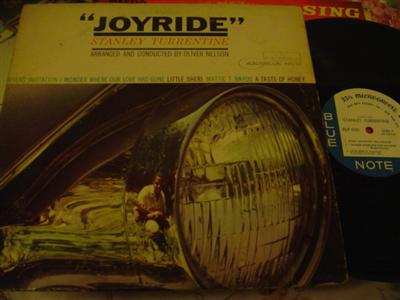 STANLEY TURRENTINE - JOYRIDE - BLUE NOTE { 774