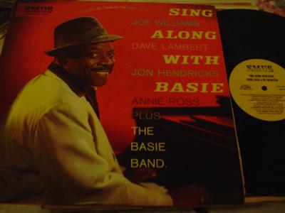 COUNT BASIE - SING ALONG WITH - EMUS RECORDS [ J 773