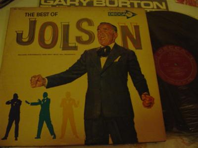 AL JOLSON - THE BEST OF - DECCA 2LP { J 766