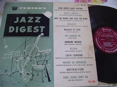 VARIOUS ARTIST - JAZZ DIGEST - PERIOD RECORDS [ J 757