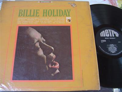 BILLIE HOLIDAY - SELF TITLE - METRO { J 122