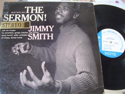 JIMMY SMITH - THE SERMON - BLUE NOTE { J 128
