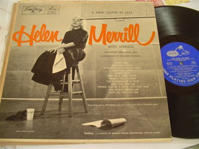 HELEN MERRILL - WITH STRINGS - EMARCY { J 164