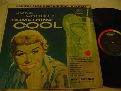 JUNE CHRISTY - SOMETHING COOL - CAPITOL { J 822