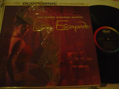 GEORGE SHEARING - LATIN ESCAPADE - CAPITOL { 810