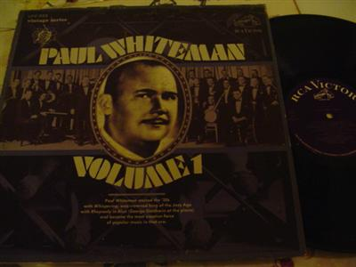 PAUL WHITEMAN - VOLUME 1 - RCA { J 790