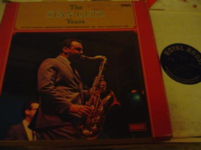 STAN GETZ - THE STAN GETZ YEARS - ROOST 2LP { J 705