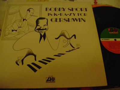 BOBBY SHORT - KRAZY GERSHWIN - ATLANTIC 2LP { J 701