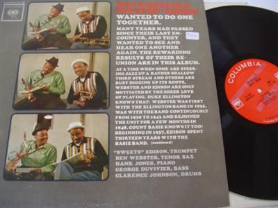 Ben Webster & Sweets Edison - COLUMBIA PROMO { J 191