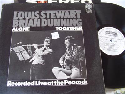 LOUIS STEWART BRIAN DUNNING - ALONE TOGETHER - LIVIA { 189